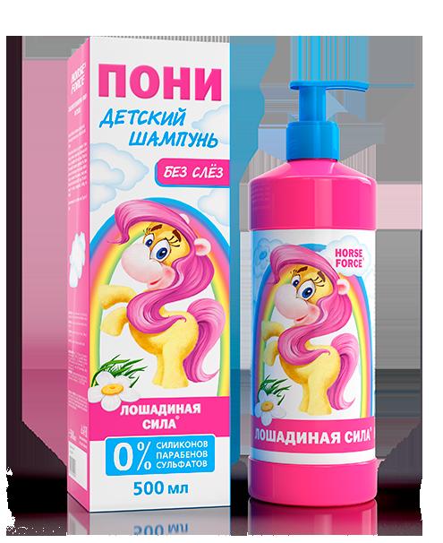 Детский шампунь без слез